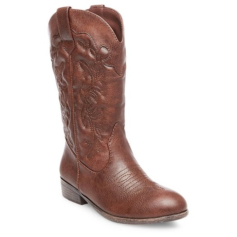 Girls' Natalia Western Boots Cat & Jack™ - Brown 6 - image 1 of 1