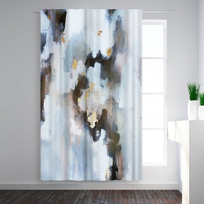 Americanflat I Can not Breathe by Christine Olmstead Blackout Rod Pocket Single Curtain Panel 50x84