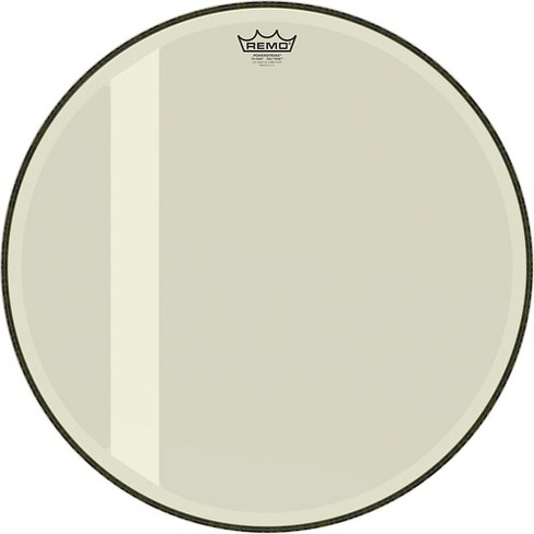 remo powerstroke 3 hazy felt tone bass drum head 26 in target. Black Bedroom Furniture Sets. Home Design Ideas