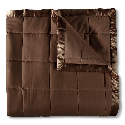 Elite Home Down Alt Microfiber Blanket - Chocolate (Full/Queen)