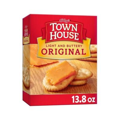 Kellog's Town House Original Snack Crackers - 13.8oz