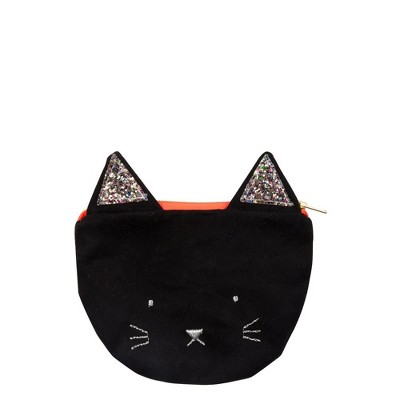Meri Meri - Black Cat Purse - Handbags - 1ct