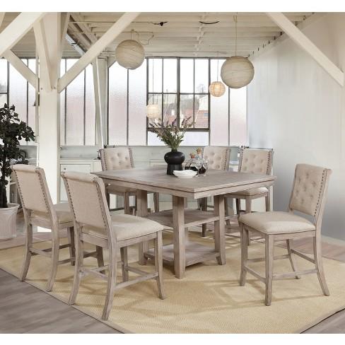 Dining Tables Light Taupe Mibasics