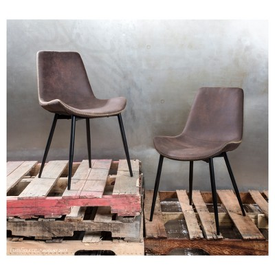 sc 1 st  Target & Duke Industrial Dining Chair - (Set Of 2) - Lumisource : Target