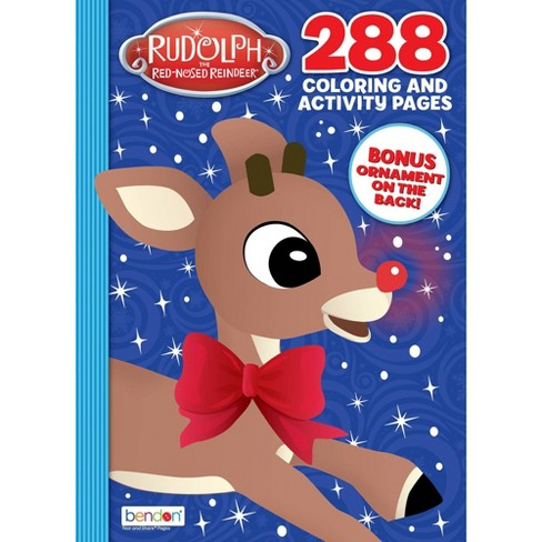 Rudolph Coloring Book Target