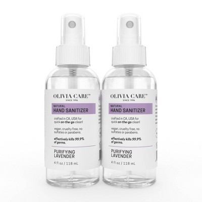 Olivia Care Hand Sanitizer - 2pk/4 fl oz