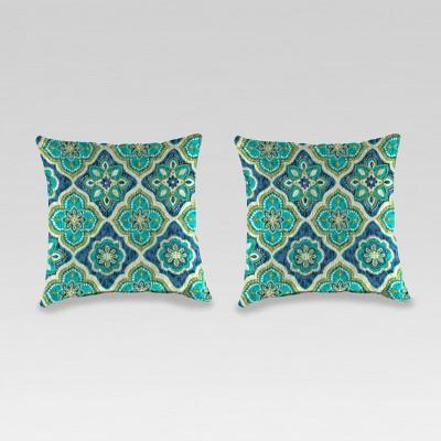 Outdoor Set of 2 Toss Pillows - Jordan Manufacturing