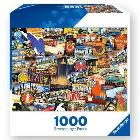 Ravensburger Road Trip USA Jigsaw Puzzle - 1000pc - image 1 of 2