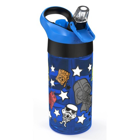 Star Wars 17.5oz Plastic Triton Water Bottle Blue - image 1 of 3