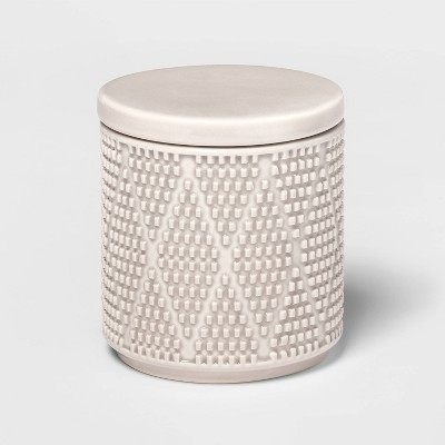 Canby Ceramic Canister Tan - Threshold™