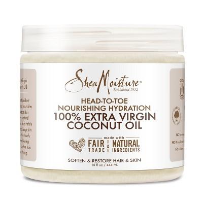 SheaMoisture 100% Extra Virgin Coconut Oil - 15oz