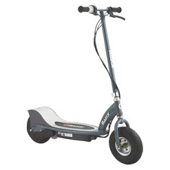 Razor E300 Rear Wheel Drive Electric Powered Scooter - Gray