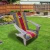 NFL Kansas City Chiefs Wooden Adirondack Chair - image 2 of 2
