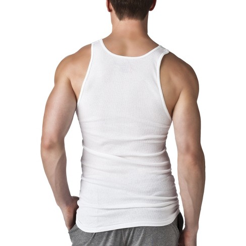 263d21c2dfb Hanes Men's Big & Tall 5pk Tanks With Fresh IQ - White 2XL