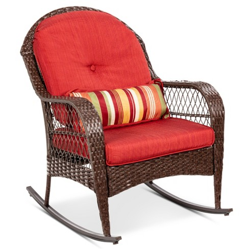 Best Choice S Outdoor Wicker, Outdoor Rocking Chair Cushions Target