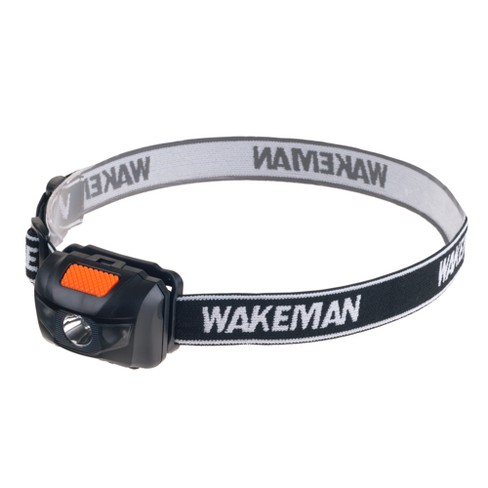 Wakeman LED 4 Mode Headlamp - Black - image 1 of 8