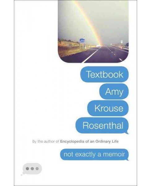 Textbook Amy Krouse Rosenthal (Hardcover) - image 1 of 1