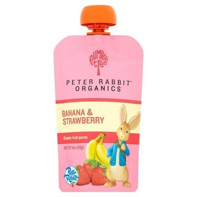 Peter Rabbit Organics Banana & Strawberry - 4oz