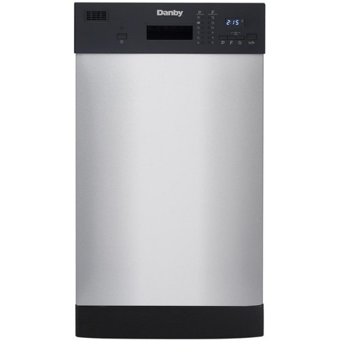 Danby 18 Wide Built In Dishwasher In Stainless Steel Target
