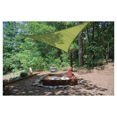 Shelter Logic Sun Shade Sail Triangle Canopy Target