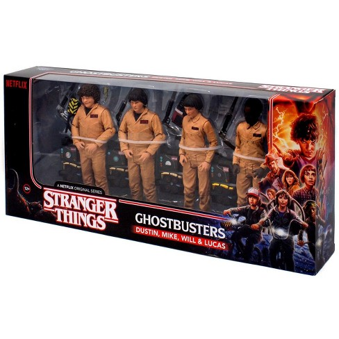 McFarlane Toys Stranger Things Ghostbusters Action Figure 4-Pack [Dustin, Mike, Will and Lucas] - image 1 of 3
