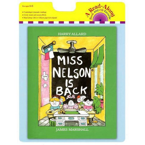 Miss Nelson Is Back Book and CD - (Read-Along Book and CD Favorite) by  Harry G Allard - image 1 of 1
