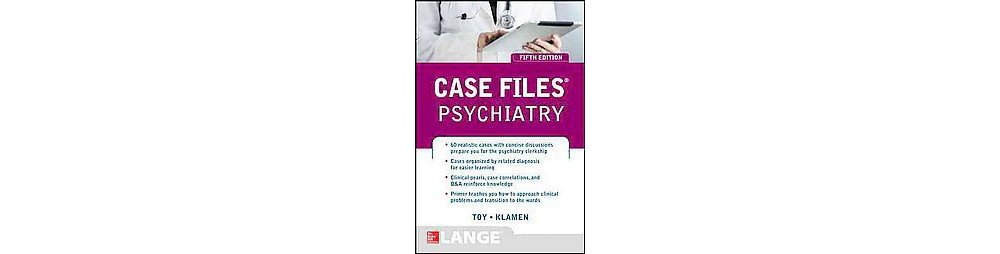 Pearson Education Case Files Psychiatry (Paperback) (M.D....