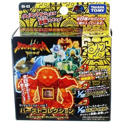 Takara Beast Saga BS-03 Random Booster Figure Warriors of Land