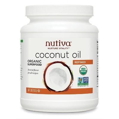 Nutiva Refined Organic Coconut Oil - 54oz