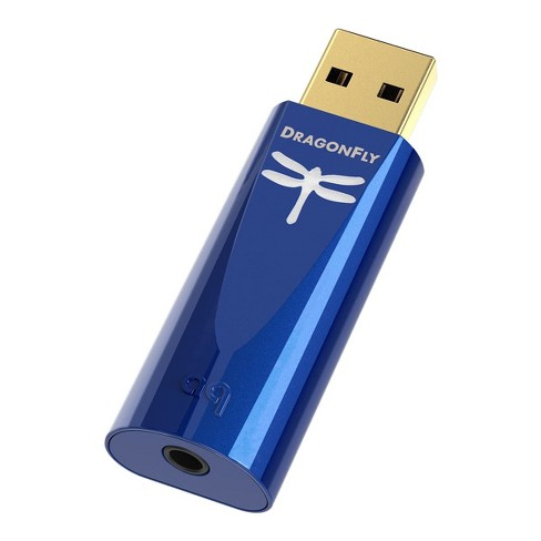 AudioQuest DragonFly Cobalt USB Digital-to-Analog Converter - image 1 of 4