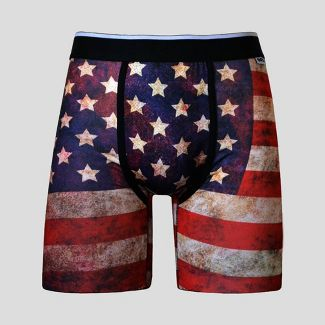 Wear Your Life by PSD Men's Americana Boxer Briefs - L