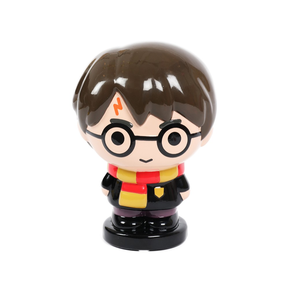 Image of Harry Potter Ceramic Bank, Brown Velvet