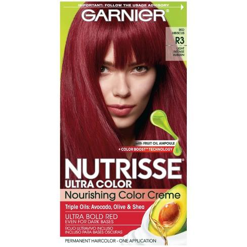 Garnier Nutrisse Ultra Color Nourishing Color Creme - R3 Light ...
