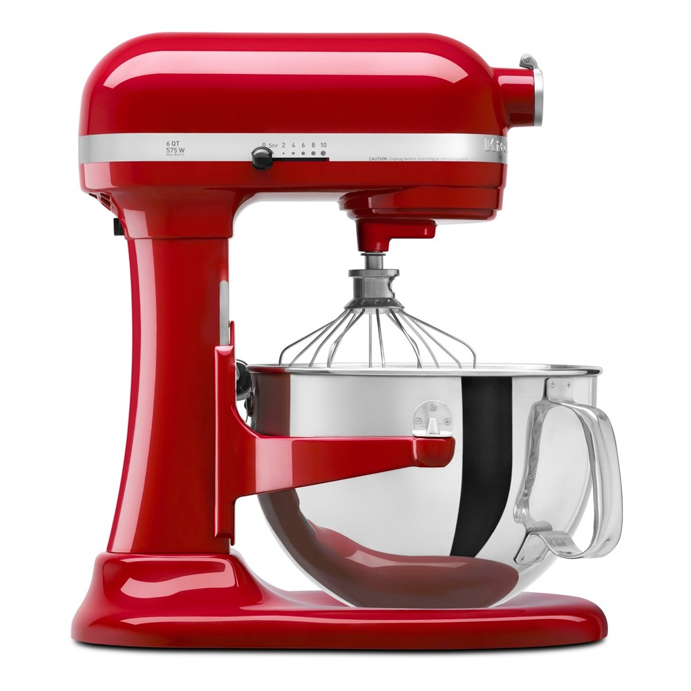 KitchenAid Refurbished Professional 600 Series 6qt Bowl-Lift Stand Mixer Empire Red – RKP26M1XER 53168490