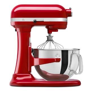 KitchenAid Refurbished Professional 600 Series 6qt Bowl-Lift Stand Mixer Empire Red - RKP26M1XER