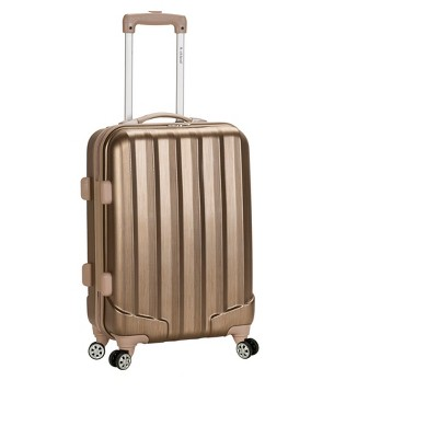 "Rockland Melbourne 20"" Expandable ABS Carry On Suitcase"