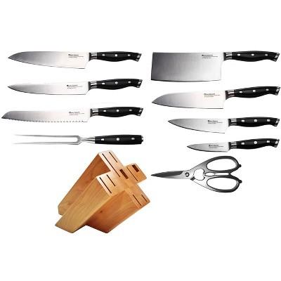 Swiss Diamond 10pc Block Knife Set