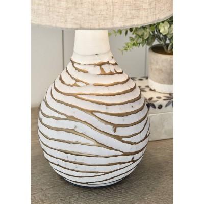 Aleela Table Lamp White/Gold - Signature Design by Ashley