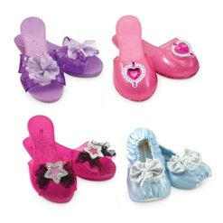Melissa & Doug Role Play Collection - Step In Style! Dress-Up Shoes Set (4 Pairs), Size: One Size
