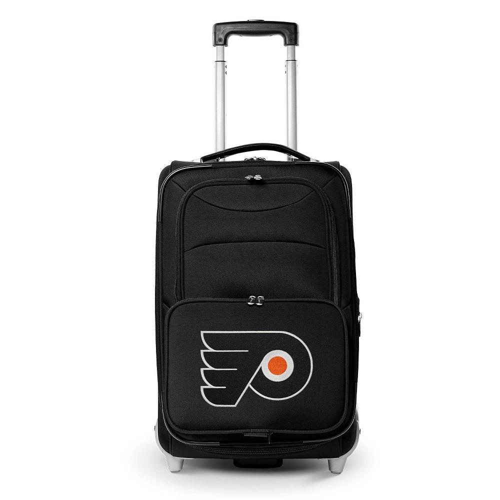 Nhl Philadelphia Flyers Mojo 21 34 Carry On Spinner Wheels Suitcase Black