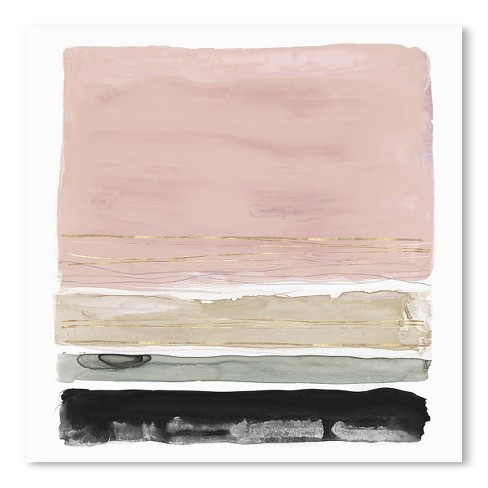 Americanflat Rothko S Stripes Ii By Pi Creative Art Unframed Print Target