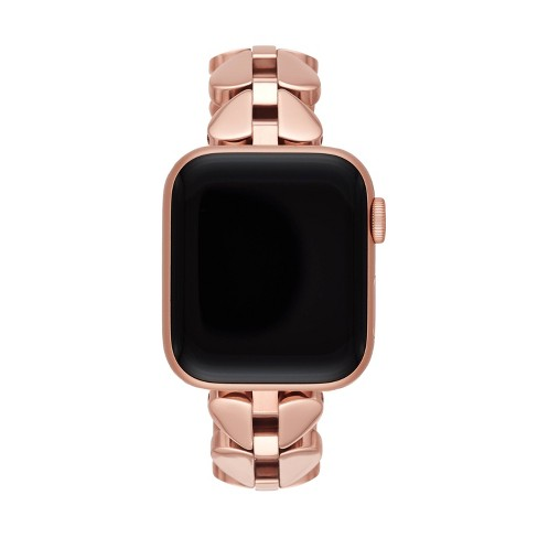 Kate Spade New York Rose Gold Tone Stainless Steel 38 40mm Band For Apple Watch Target