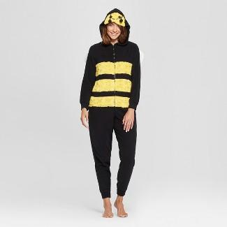 Women's Halloween Bee Union Suit - Xhilaration™ Yellow M/L