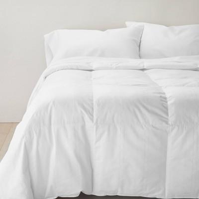 Full/Queen Mid Weight Duck Down Blend Hypoallergenic RDS Certified Machine Washable Comforter - Casaluna™