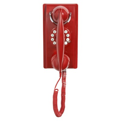 Crosley Wall Phone - Red (CR55-RE)