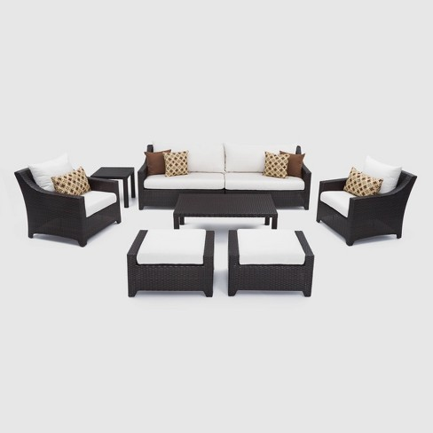 RST Brands Deco 8-piece Sofa and Club Chair Set - image 1 of 4