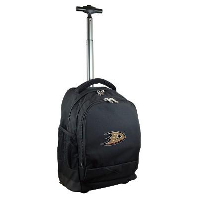 NHL Mojo Premium Wheeled Backpack - Black