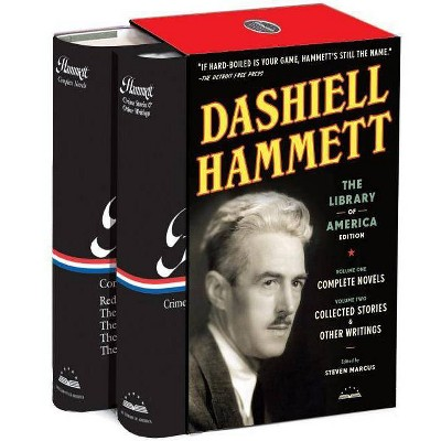 Dashiell Hammett: The Library of America Edition - (Mixed Media Product)