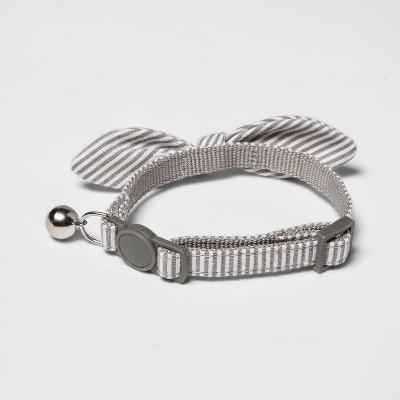 Stripe Cat Collar - Gray - Boots & Barkley™