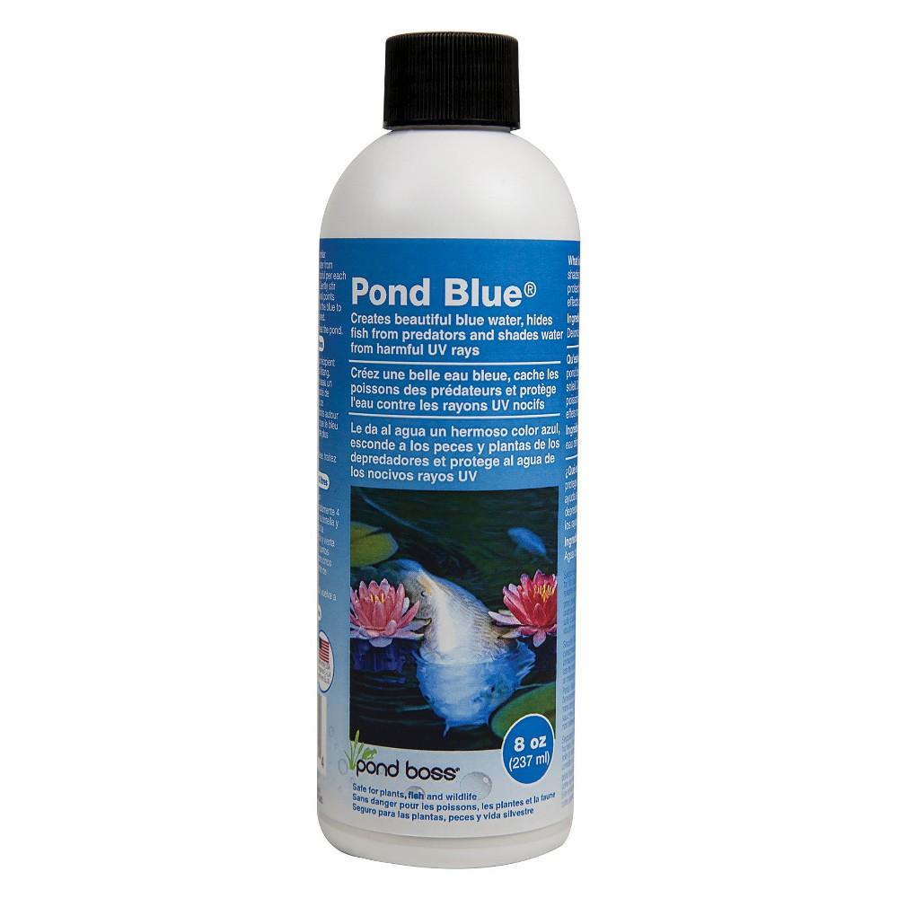 "Image of ""6.31"""" Pond Boss Pond Blue - 8oz"""